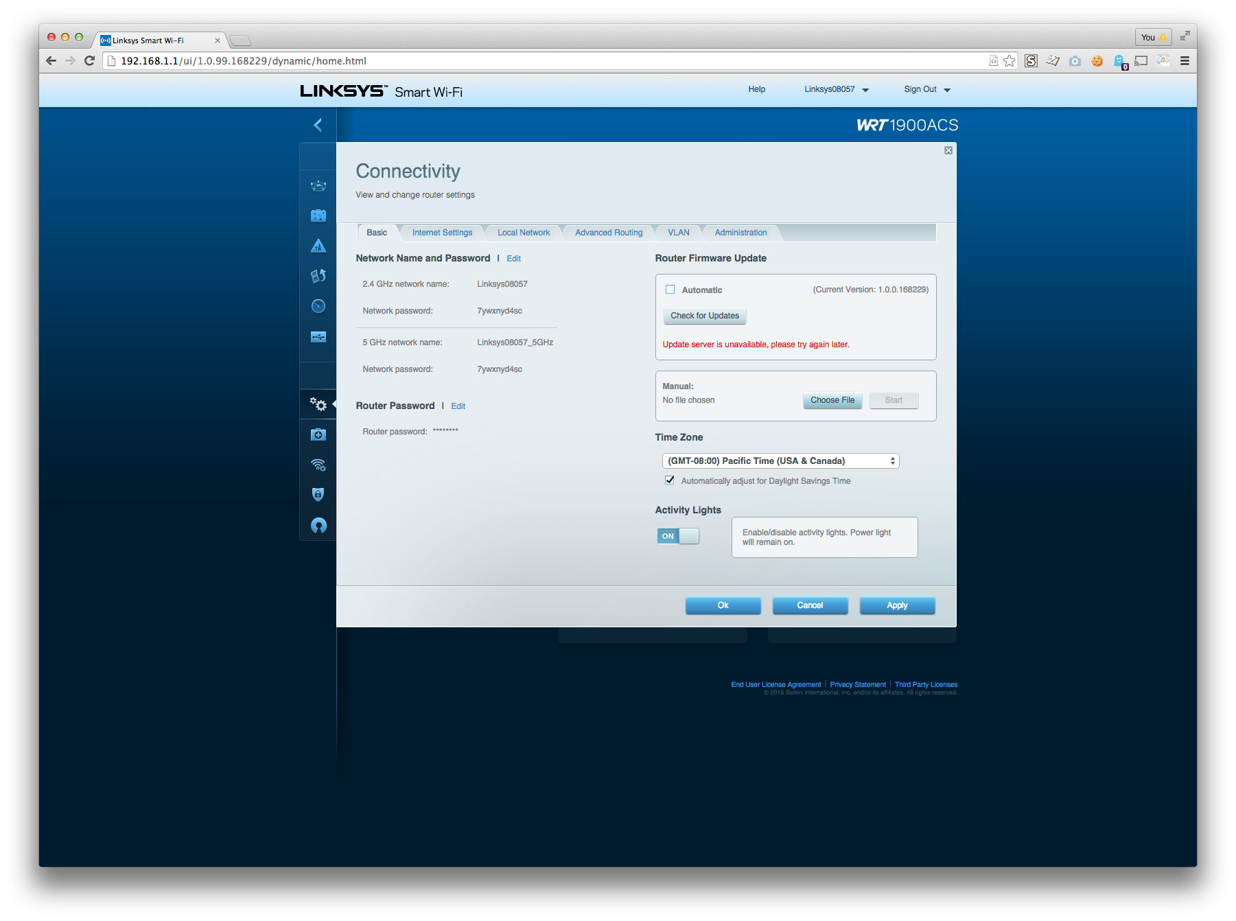 Installing OpenWRT on a Linksys WRT1900ACS – David Simpson – deliver