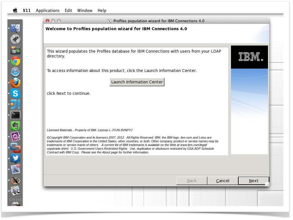 Adding new sample users to IBM Connections via Domino Administrator